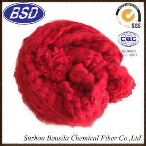 Hot Selling Colored Polyester Staple Fiber PSF for Cotton Fabrics pictures & photos