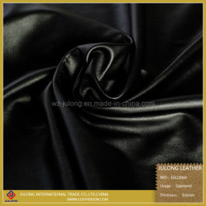 Sheep Grain PU Leather for Garment (G022) pictures & photos