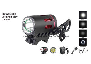 3 Watt White LED Bicycle Light (HLT-178) pictures & photos