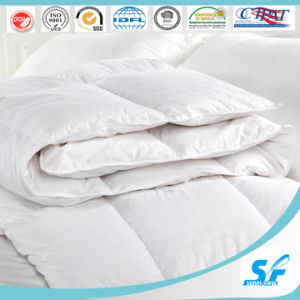 Top Quality 80% White Duck Down Duvet for Sound Sleep pictures & photos