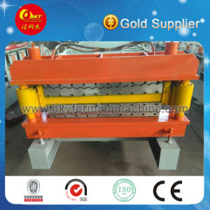 High Quality Steel Tile Double Layer Roll Forming Machine pictures & photos