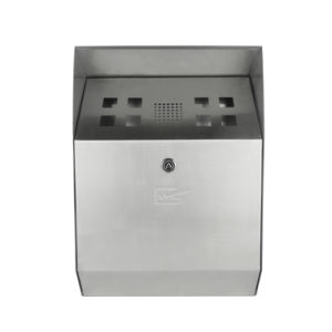 Innomax Self-Extinguishing Weather- & Theft-Proof Wall-Mounted Cigarette Bin