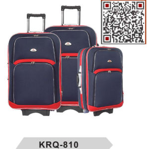EVA 300d Shantung Silk External Trolley Luggage pictures & photos