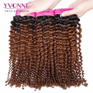 Wholesale Remy Hair Brazilian Ombre Hair Extension pictures & photos
