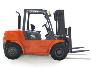 7000kgs Niuli Diesel Forklift with Top Quality pictures & photos