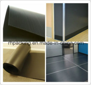 Custom Plastic Protected Sheet/Floor Protection Sheet Manufacturer 1.2m X 2.5m pictures & photos