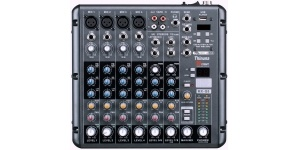 Thinuna Mx-Q8 Eight-Way Mini-Mixer with USB and Effects
