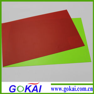 Crystal Plastic PVC Rigid Sheet pictures & photos