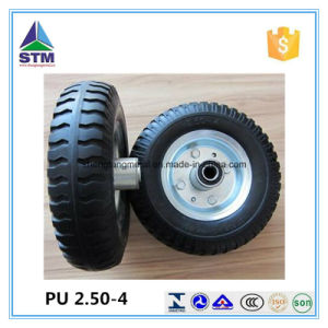 2.50-4 PU Form Wheel Industry Wheel PU Caster Wheel