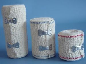 High Quality 100% Cotton Crepe Bandage pictures & photos