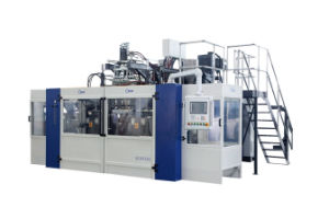 Full Automatic Blow Molding Machine B15D-640 (2 Stations 3 Cavities) pictures & photos