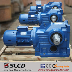 K Series Inline Helical Gear Reducers Transmission Gear pictures & photos