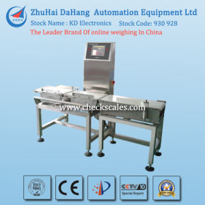 Flipper Type Online Check Weigher Machine pictures & photos