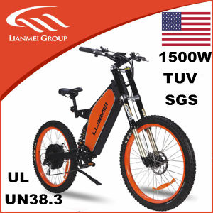 48V1500W Electric Downhill Bikes 26inch pictures & photos