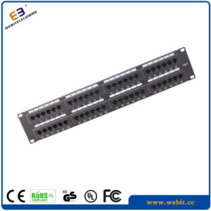 2u 48 Ports UTP CAT6 Patch Panel pictures & photos