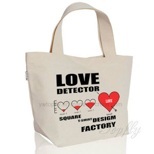 Customized Promotional Natural Reusable Canvas Cotton Bag Tote Beach Bags pictures & photos