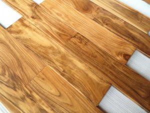 C&L Prefinished Asian Walnut Ab Grade Solid Wood Flooring pictures & photos