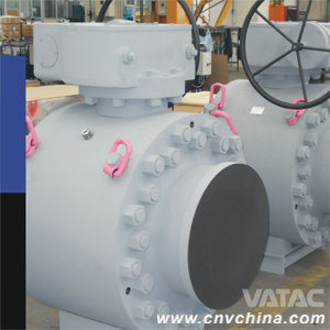 Gear Opearated Forged Steel Butt Welded Full Welded Ball Valve pictures & photos