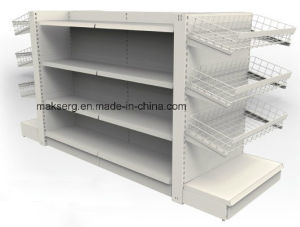 Double Sided Shelf for Supermarket pictures & photos