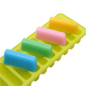 Strip Shapes Thumb Biscuits Mold Silicone Sugarcraft Chocolate Cake Soap Candle pictures & photos