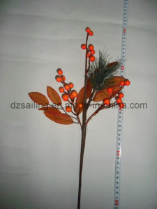 Autumn Coloration Berry Artificial Flower for Home Decoration (SHL15-G007) pictures & photos