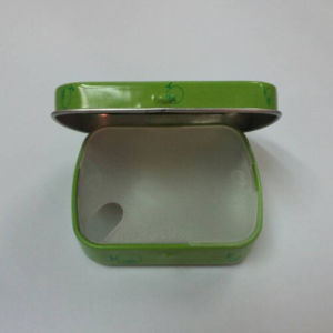 Higed Chewing Gum Tin with Plastic Inner