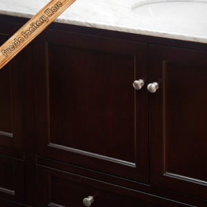 Fed-1569 72 Inch Elegant Cupc Double Sinks Marble Top Modern Bathroom Cabinets pictures & photos