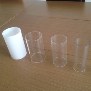 Acrylic Plastic Clear Pipe Acrylic Tube for LED Sings pictures & photos