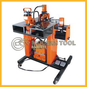 3 in 1hydraulic Busbar Processor/Machine Cutting Bending Punching (HB-150W) pictures & photos