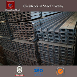 Hot Rolled Carbon Mild Steel Channel with 6m Length (CZ-C126) pictures & photos