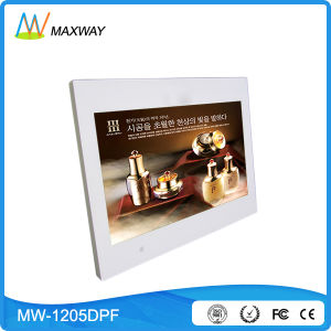 New Design 12 Inch Digital Photo Frame with SD USB Slot pictures & photos