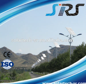 Solar Street Light Pole for Countryside Road pictures & photos