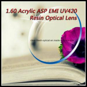 1.60 Acrylic Asp EMI UV420 Resin Optical Lens