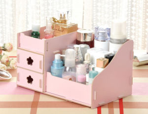 Custom Cheap Printed Wooden Box for Make up pictures & photos
