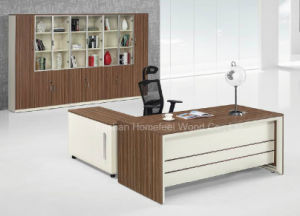 Fashion Design Wooden Executive Boss Table Office Furniture (HF-AA020) pictures & photos
