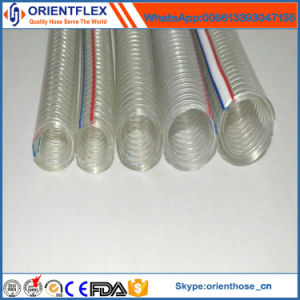 China Manufacturer Transparent PVC Steel Wire Hose pictures & photos