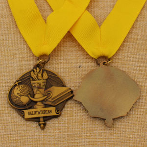 Antique Style 3D Reading Party Metal Medal Custom Sale pictures & photos