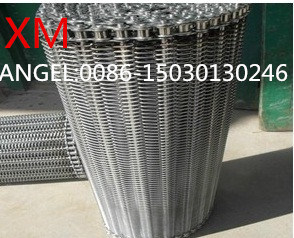 Food Industry Stainless Steel Spiral Wire Mesh Belt Conveyor Belt pictures & photos
