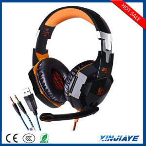 Hot Selling G9000 USB 3.5mm Wired Headphone Gaming Headset with LED pictures & photos