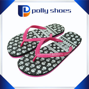 Custom Logo Brand Women Cute Indoor Slippers pictures & photos