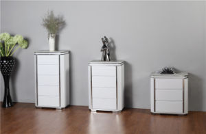 Three Drawer Cabinet Side Table and Bedroom Cabinet pictures & photos