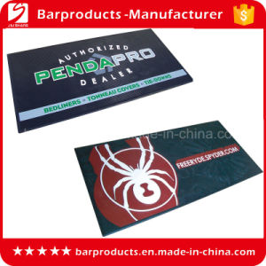 Promotional Rectangle PVC Logo Door Mat