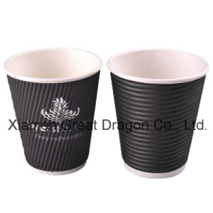 1.5-32 Ounce Hot Beverage Paper Cups and Lids (PC11014) pictures & photos