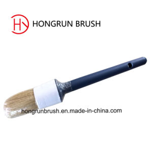 Round Paint Brush with Plastic Handle (HY0607) pictures & photos