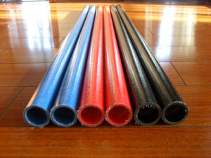 Pultruded UV High Strength Fiberglass Round Tube/FRP Round Tube pictures & photos
