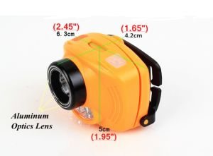 Motion Sensor CREE LED Headlamp Adjustable Strip Waterproof Head Lamp Light 3*AAA Headlight pictures & photos