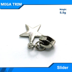 Silver Custom Metal Zipper Slider for Clothes or Bag pictures & photos