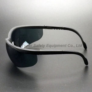 Indoor/Outdoor Lens Safety Glasses Black Nylon Frame (SG107) pictures & photos