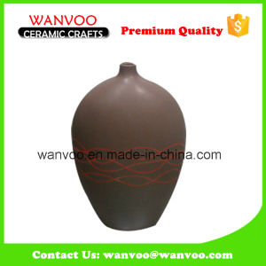 New Arrival Factory Ceramic Decoration Flower Vase pictures & photos