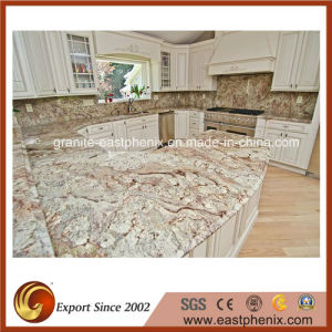 Typhoon Bordeaux Granite Countertop for Kitchen, Worktop pictures & photos